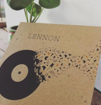 Birth Announcement - Lennon