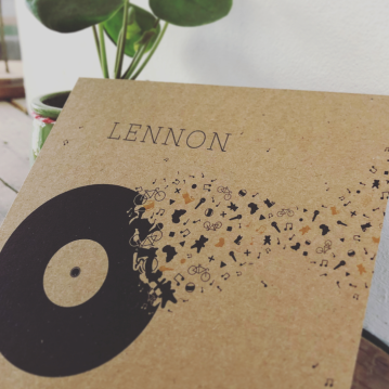 Birth Announcement - Lennon